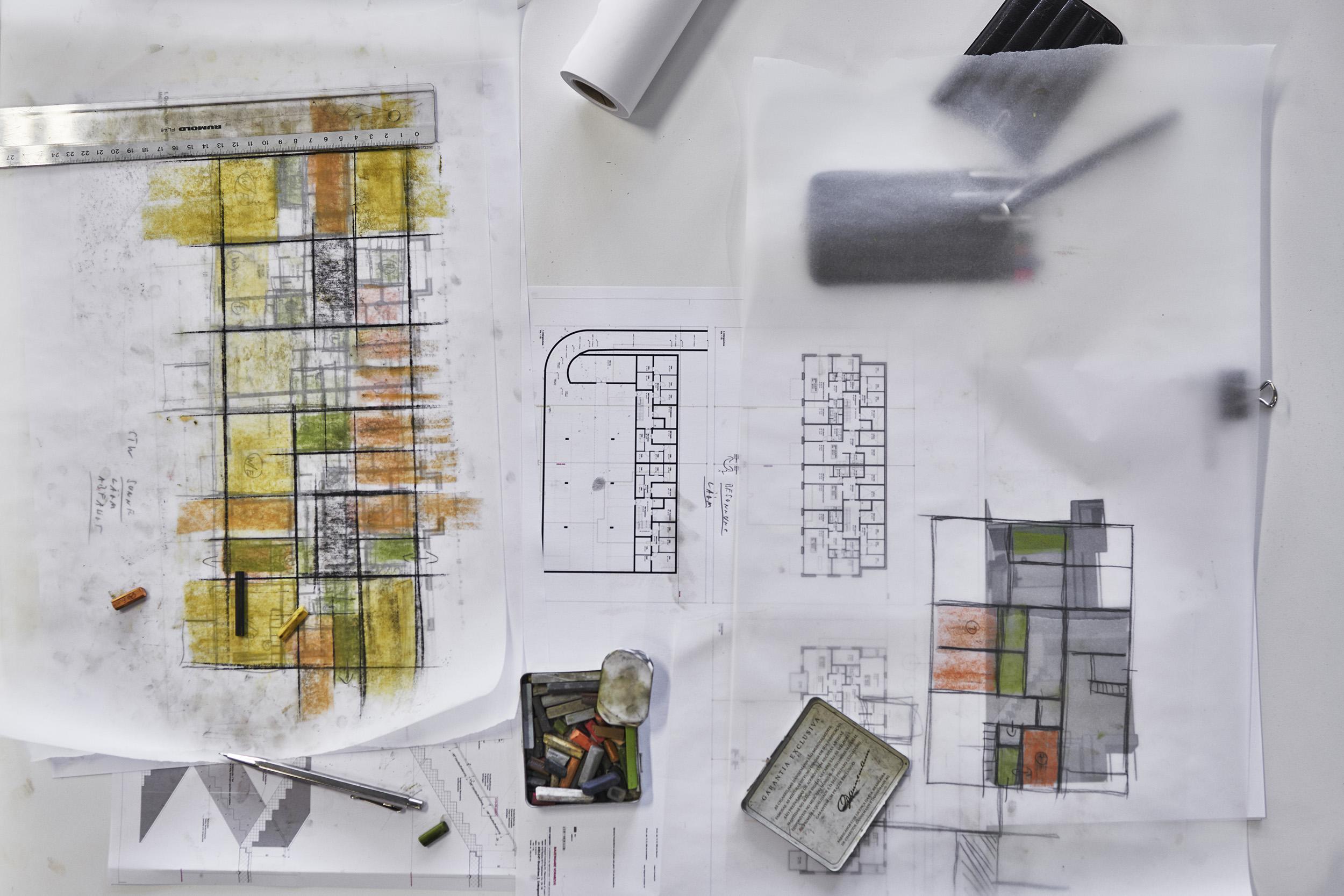 Bürodokumentation für Fischer Architekten AG, Zürich